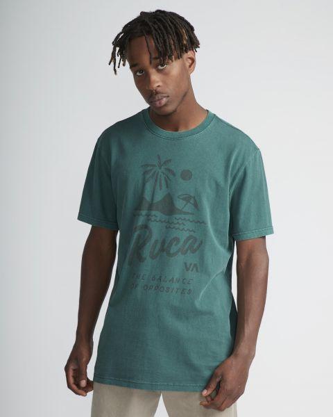 RVCA T-Shirts Mai Thai pinetree vorderansicht 0399894