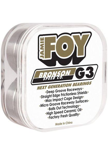 Bronson Speed Co. Kugellager Jamie Foy Pro G3 black-gold vorderansicht 0180348