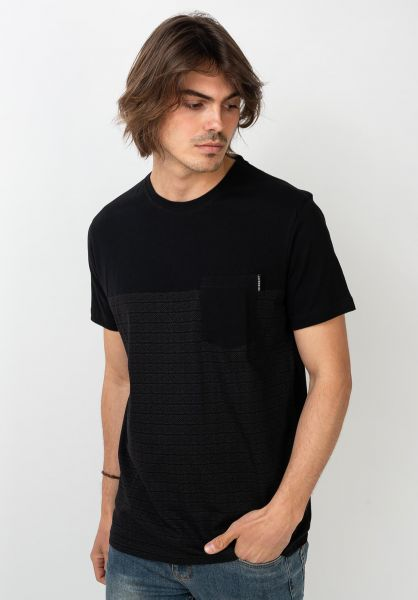 iriedaily T-Shirts Tahiti blackmelange vorderansicht 0397457