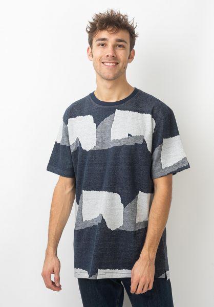 Wemoto T-Shirts Fort navyblue vorderansicht 0320337