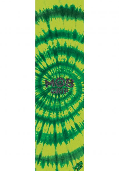 MOB-Griptape Griptape Tie Dye Assorted green-yellow vorderansicht 0140610