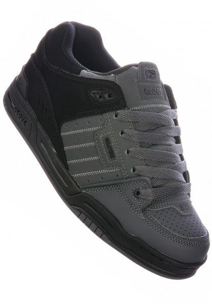 Globe Alle Schuhe Fusion darkshadow-blacksplit vorderansicht 0604105