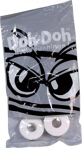 Doh-Doh Lenkgummis 98A White Set white Vorderansicht