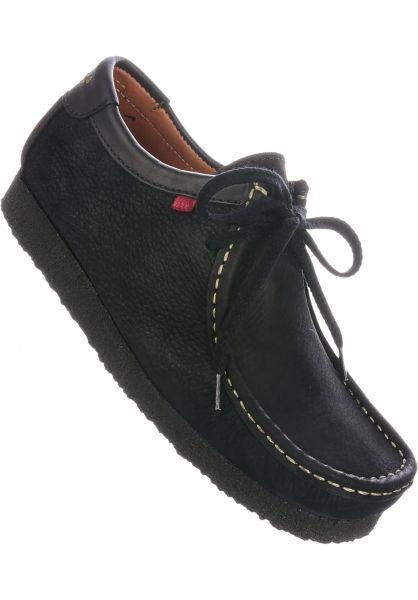 Djinns Alle Schuhe Genesis Low black-nubuck vorderansicht 0604309
