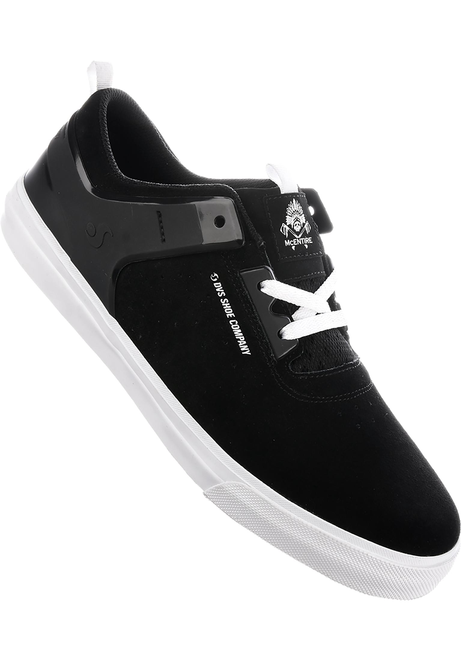 dvs alle schuhe cinch ct black white vorderansicht