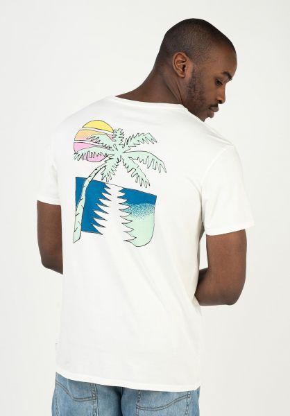 Quiksilver T-Shirts Island Pulse snowwhite vorderansicht 0323168