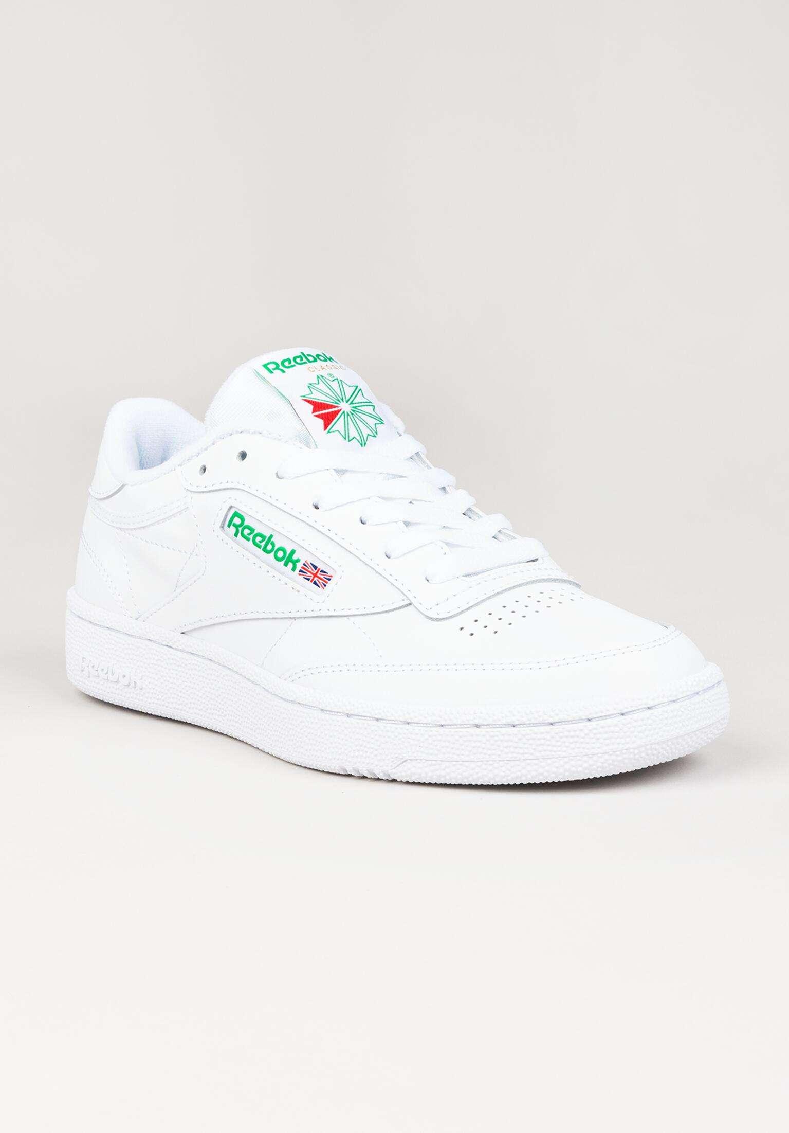 ac8b84e5115401 Club C 85 Reebok Alle Schuhe in white-green für Damen