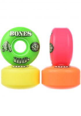 Bones Wheels 100's OG #16 100A multi