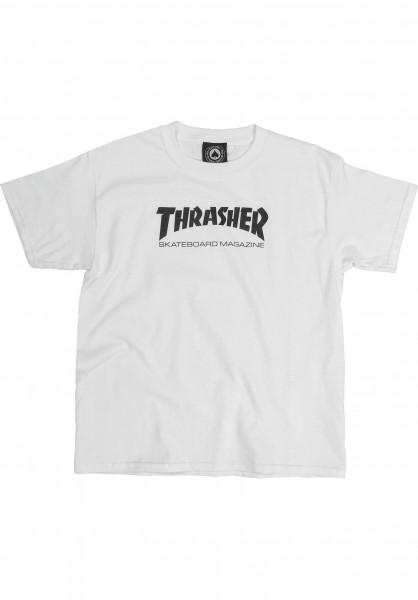 Thrasher T-Shirts Skate Mag Toddler white Vorderansicht