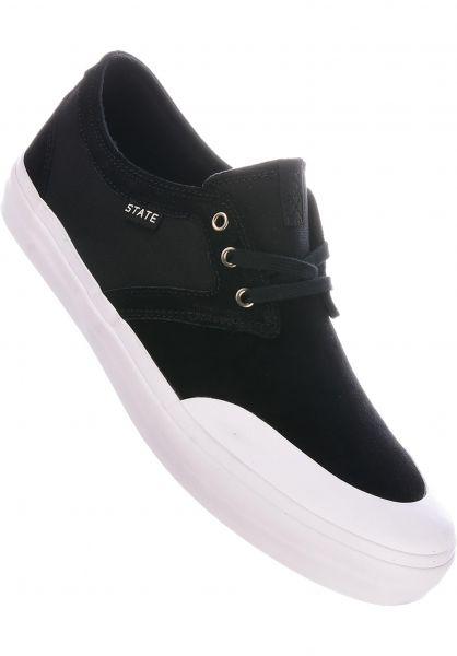 State Alle Schuhe Bishop Suede black vorderansicht 0604523