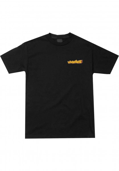 Independent T-Shirts Worrest Sharpie black Vorderansicht