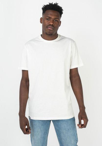 AEVOR T-Shirts Base Tee white vorderansicht 0322328