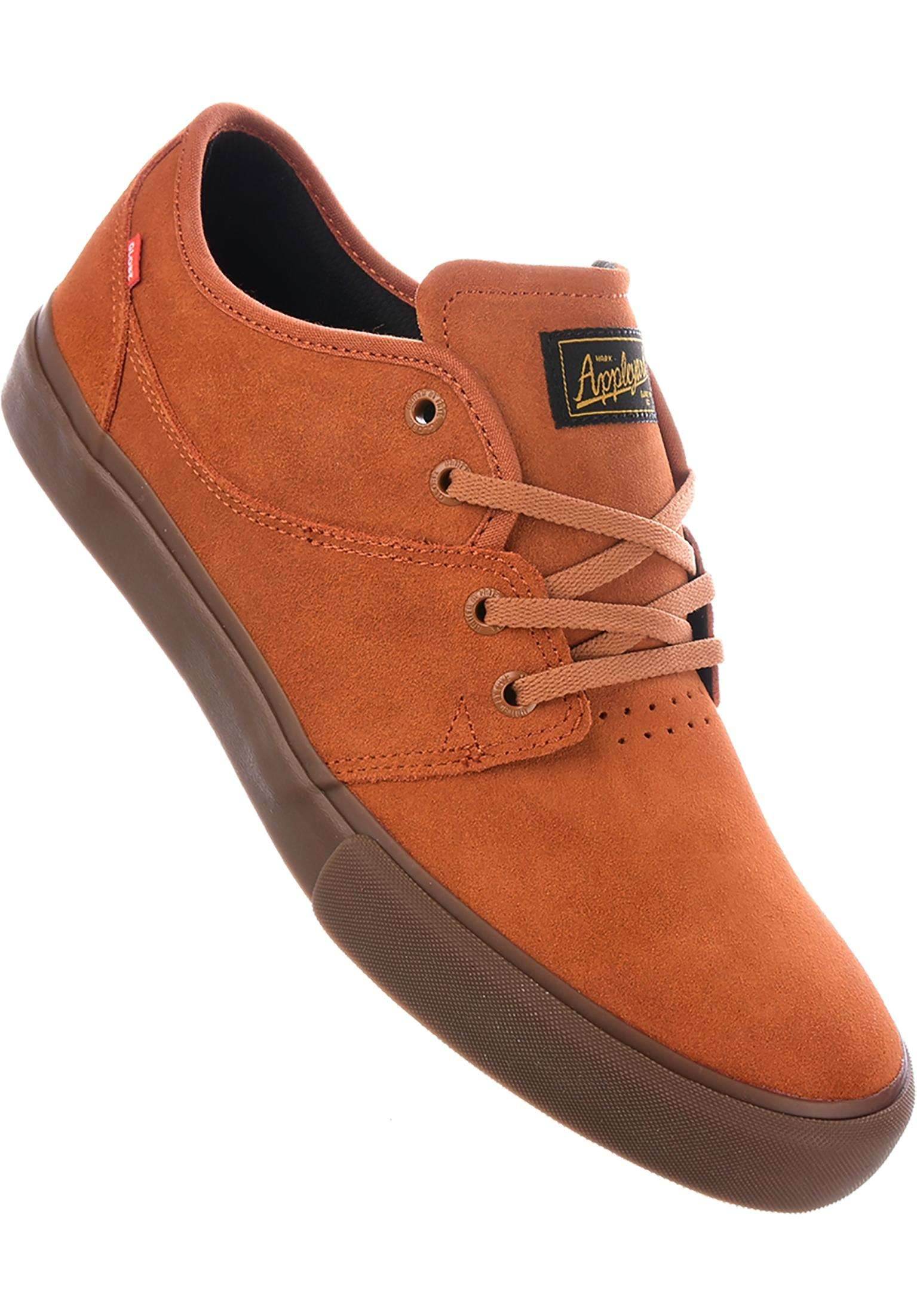 360055d873 Mahalo Globe All Shoes in rust-tobacco for Men