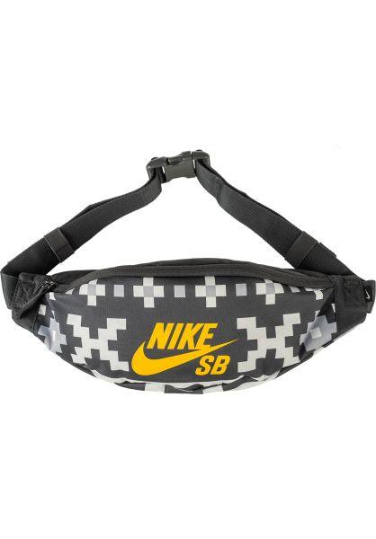 Nike SB Hip-Bags Heritage anthracite-sail-darksulfur vorderansicht 0169106