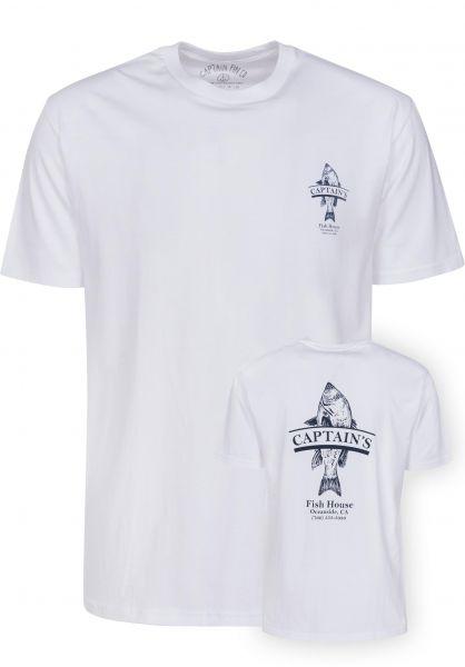 Captain Fin T-Shirts Vera Cruz white Vorderansicht
