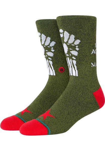 Stance Socken Renegades armygreen vorderansicht 0632221