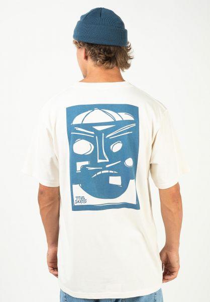 TITUS T-Shirts Rampface offwhite vorderansicht 0320919