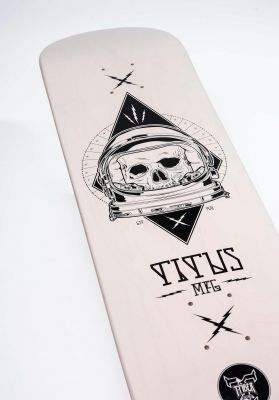 TITUS Outer Space Skull T-Fiber