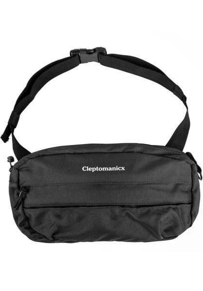 Cleptomanicx Hip-Bags Tap S black vorderansicht 0169173