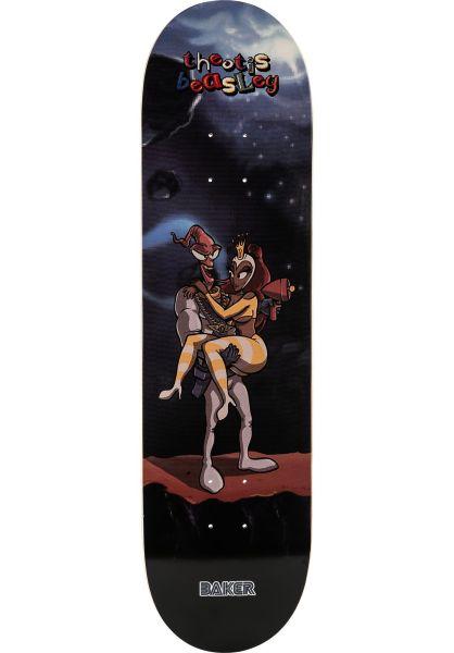 Baker Skateboard Decks Beasley What´s Her Name multicolored vorderansicht 0263417