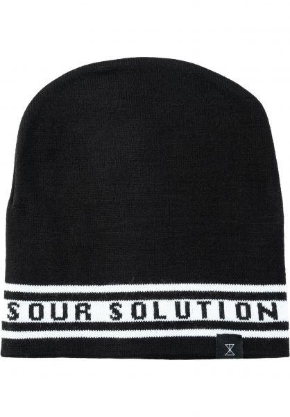 Sour Solution Mützen Atletic b&w vorderansicht 0572631