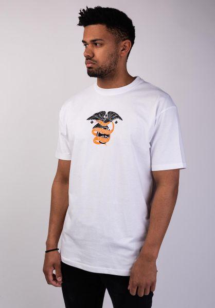 Independent T-Shirts BC Alder Seal white vorderansicht 0399864