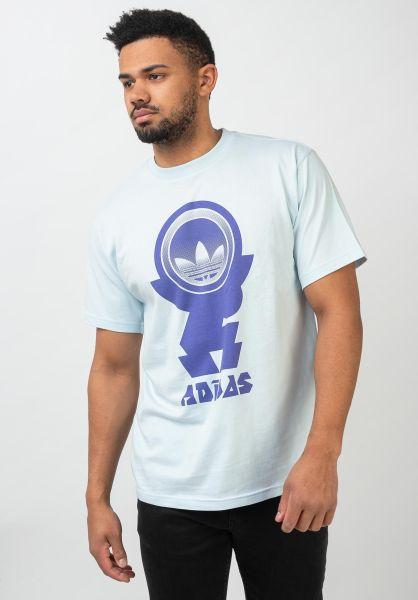 adidas-skateboarding T-Shirts Frst Tee skytint vorderansicht 0321614
