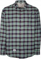 Reell-Hemden-langarm-Check-green-Vorderansicht
