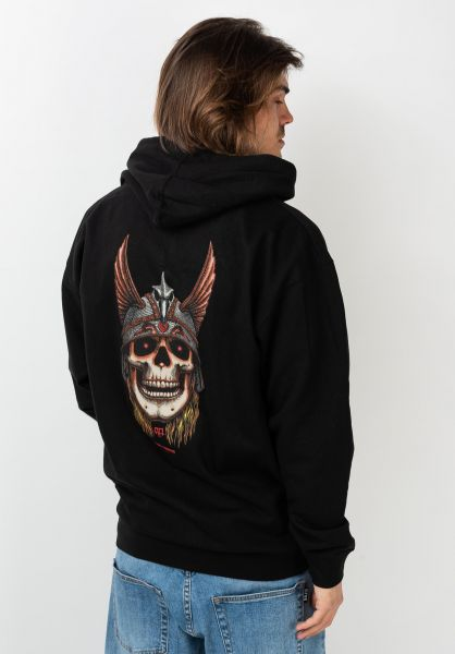 Powell-Peralta Hoodies Andy Anderson Skull black vorderansicht 0445651