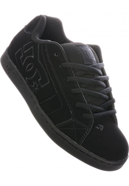 Net DC Shoes All Shoes in black-black