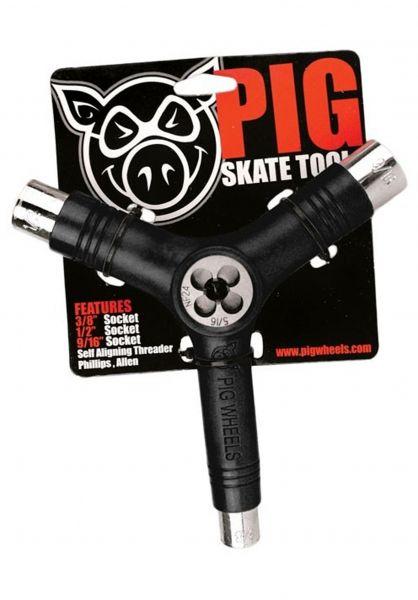 Pig Skate-Tools Tool inkl. Gewindeschneider black vorderansicht 0150222