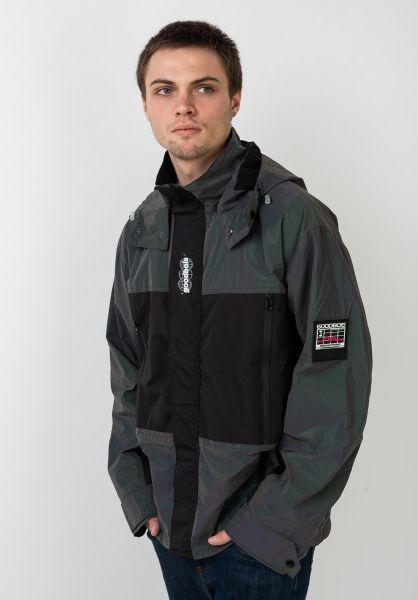 Goodbois Übergangsjacken Geotag Radar Shell Jacket oilspill-reflective vorderansicht 0504564