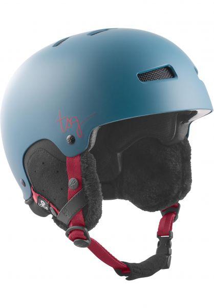 TSG Snowboardhelme Lotus Solid Color satin opal Vorderansicht 0750092
