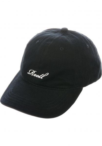 Reell Caps Single Script Cap black vorderansicht 0566792