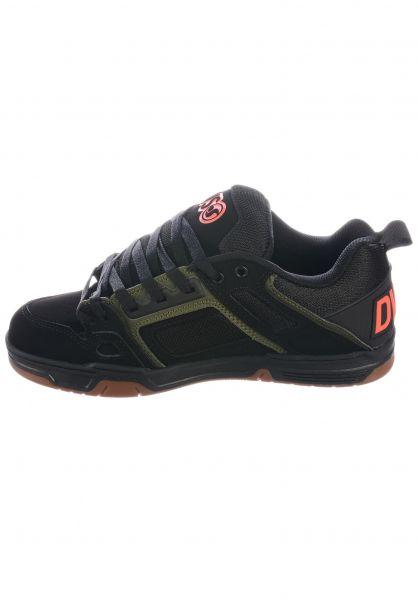 DVS Alle Schuhe Comanche black-olive oberansicht 0603386