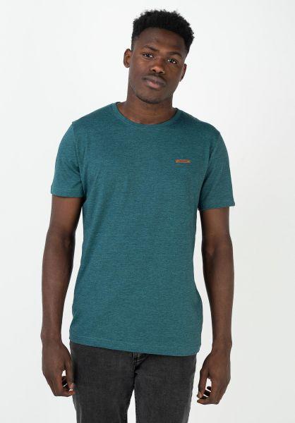 Ragwear T-Shirts Nedie petrol 320 vorderansicht 0321607