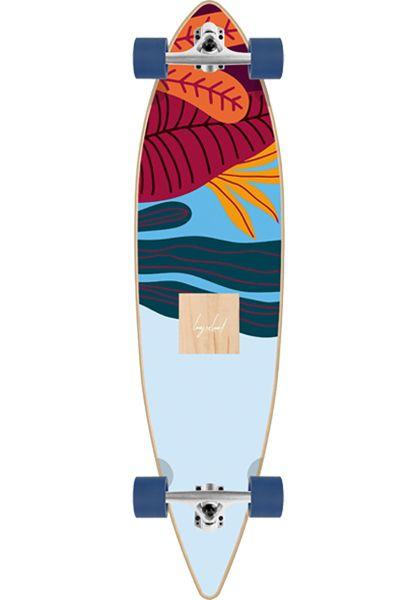 Long Island Longboards komplett Amazon Essential 41´´ Pin multicolored vorderansicht 0194313