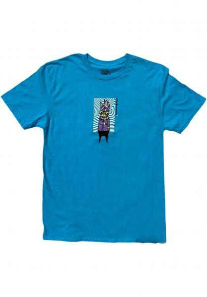 Darkroom T-Shirts Paranoid teal vorderansicht 0324458