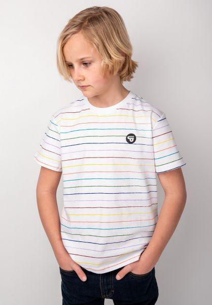 TITUS T-Shirts Glow Kids multi-white vorderansicht 0398401