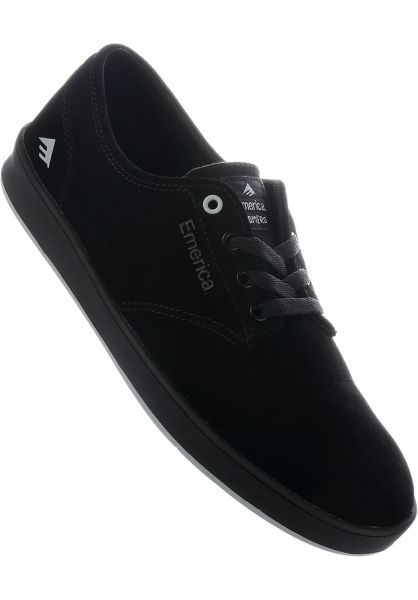 Emerica Alle Schuhe Romero Laced black-black-blue vorderansicht 0604642