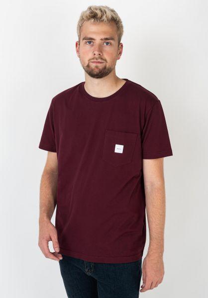 Makia T-Shirts Square Pocket port vorderansicht 0397016