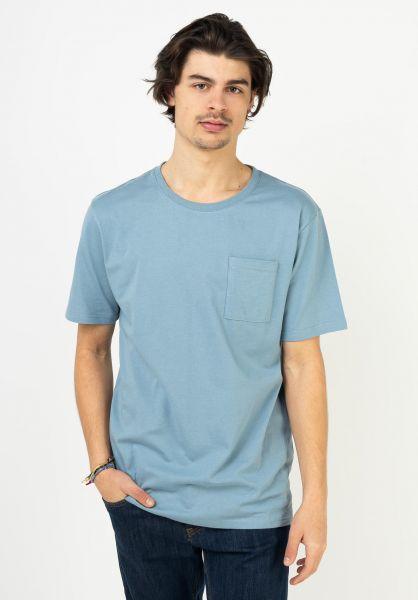 TITUS T-Shirts Okko bluegrey vorderansicht 0322004