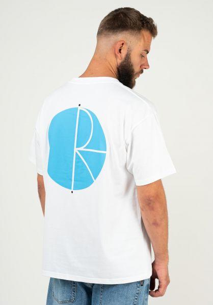 Polar Skate Co T-Shirts Fill Logo white vorderansicht 0379771