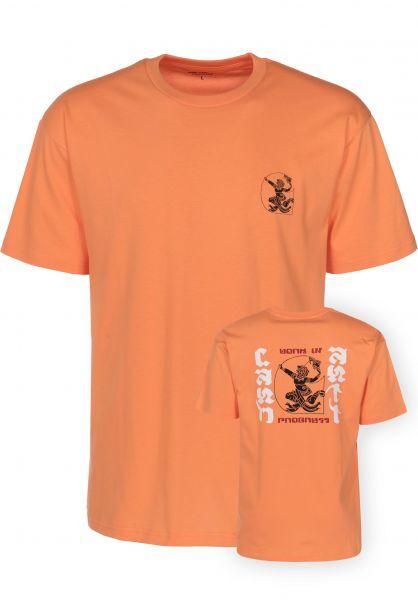 Carhartt WIP T-Shirts High Kicks marigold Vorderansicht