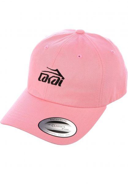 Lakai Caps Logo Dad Hat pink Vorderansicht d2850262407