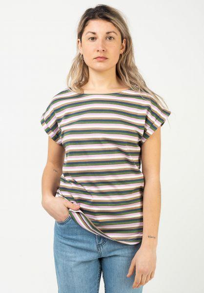 Wemoto T-Shirts Bell Stripe multicolor vorderansicht 0320282