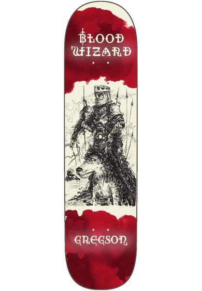 Blood Wizard Skateboard Decks Gregson Knight Battering Ram red vorderansicht 0263599