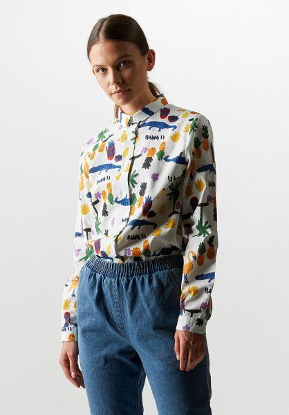 Wemoto Hemden kurzarm Math white vorderansicht 0400866