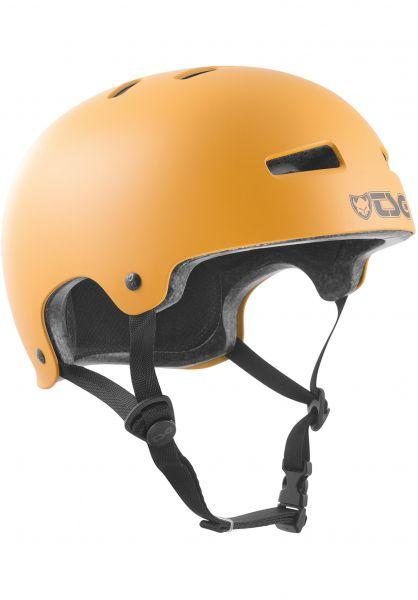 TSG Helme Evolution Solid Colors satin earth vorderansicht 0075046