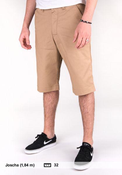 Reell Shorts Deck Short pc sand Vorderansicht